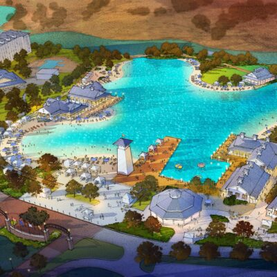 Rendering of renovations to Tunica, Mississippi, resort.