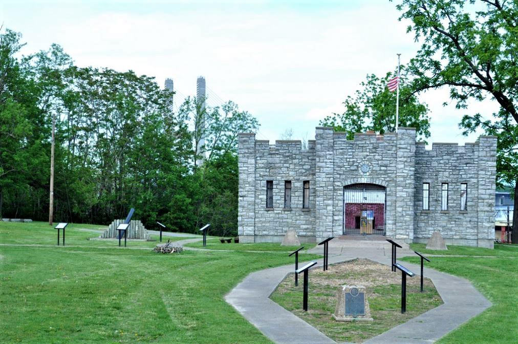 Replica of Fort D in Cape Girardeau.