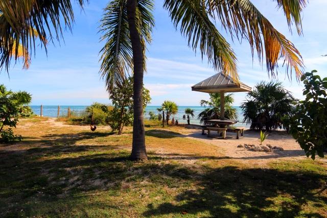 Rest Beach in Key West, Florida.