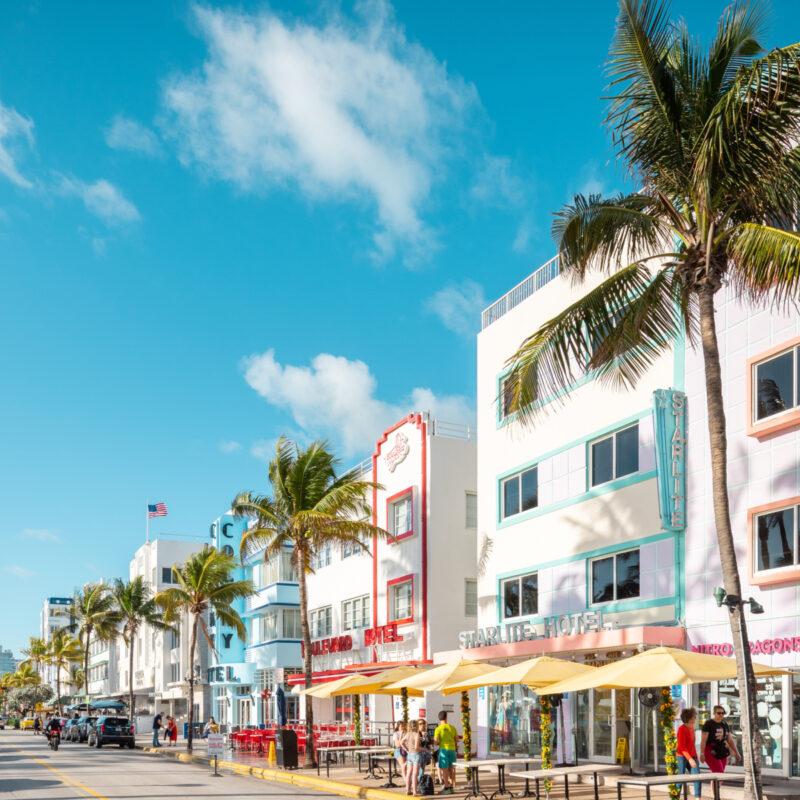 Restaurants in Miami.