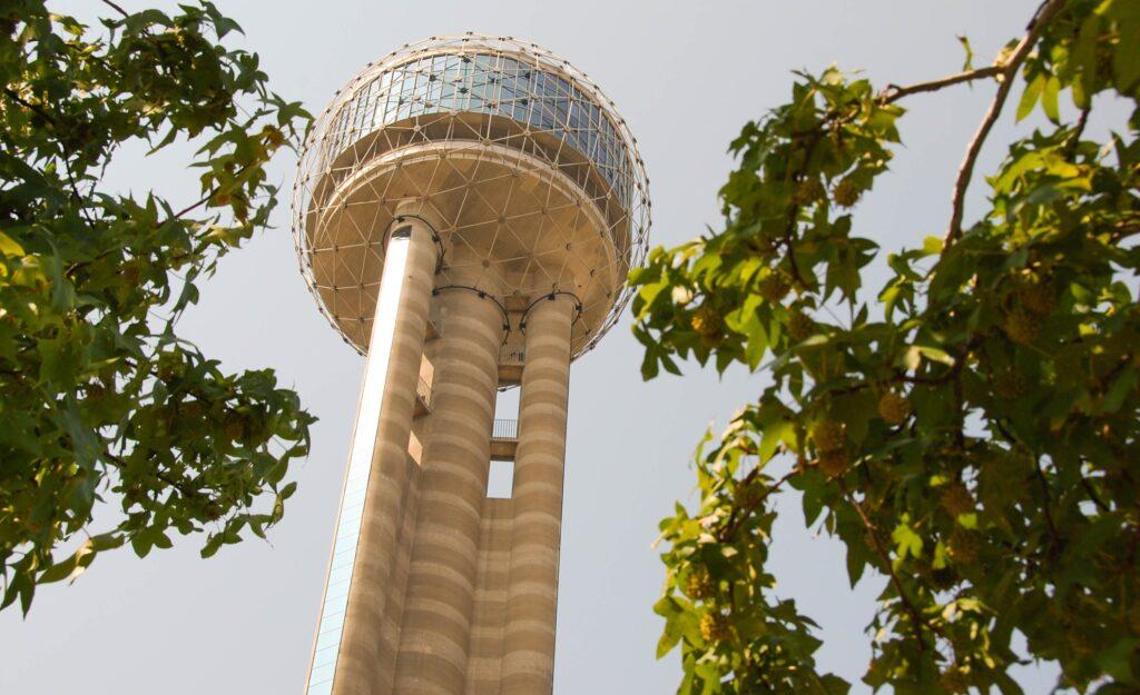 Reunion Tower in Dallas, Texas.