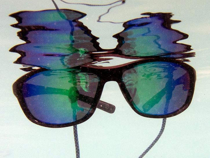 Rheos men floating sunglasses