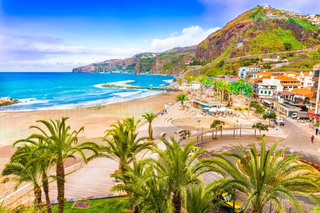 Ribeira Brava in Madeira, Portugal.