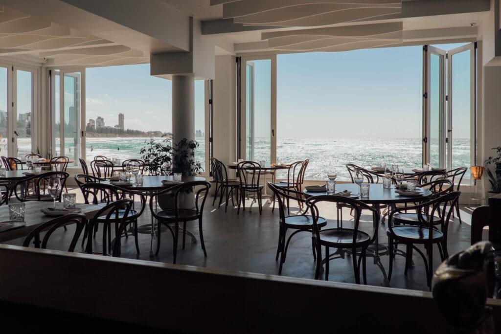 Rick Shores restaurant in Gold Coast, Australia.