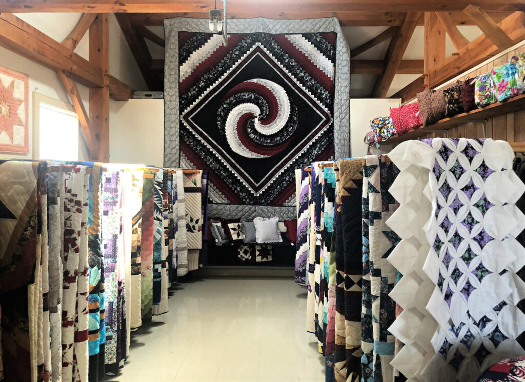 Riehl's Quilts and Crafts in Lancaster.
