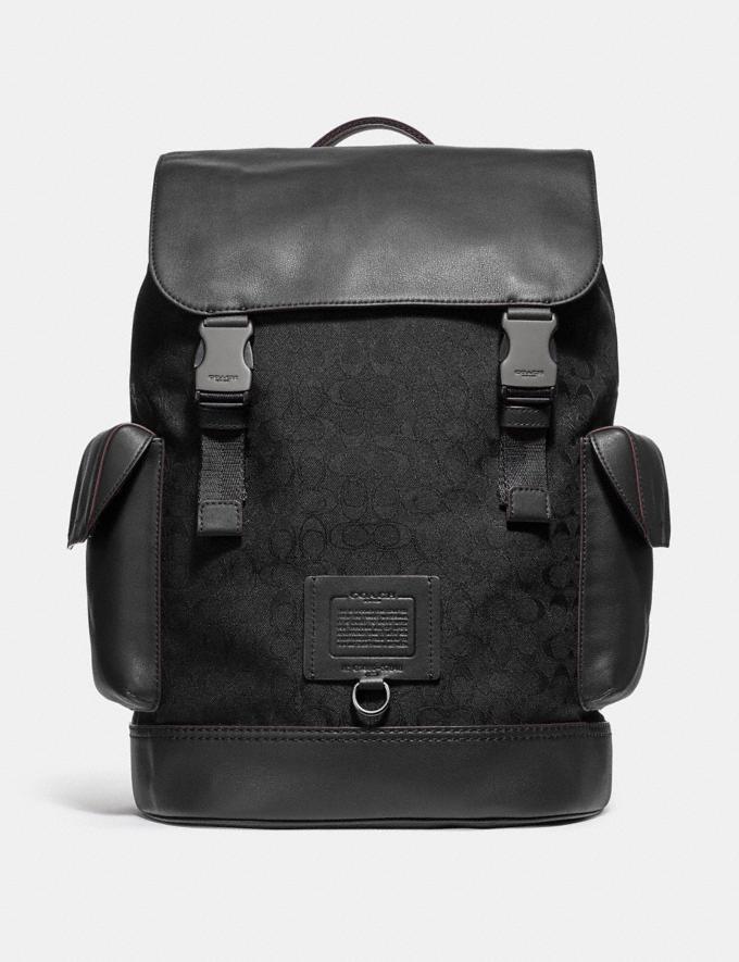 Rivington Backpack in black/copper finish.