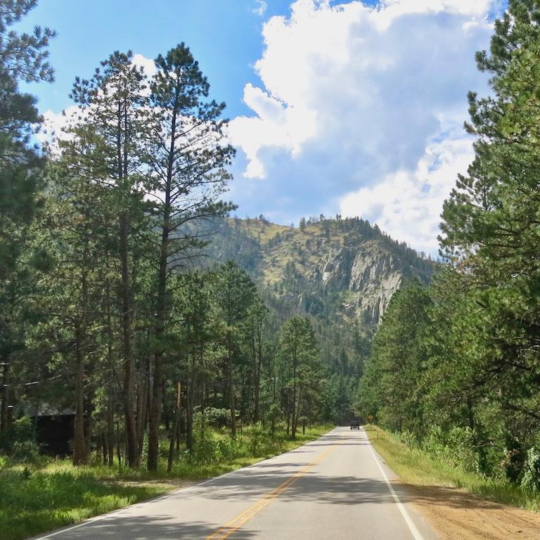 Road trip views in Colorado.