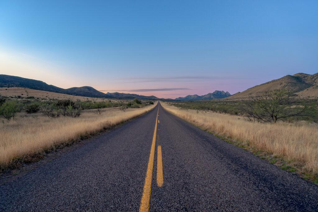Road trip views near Fort Davis, Texas.