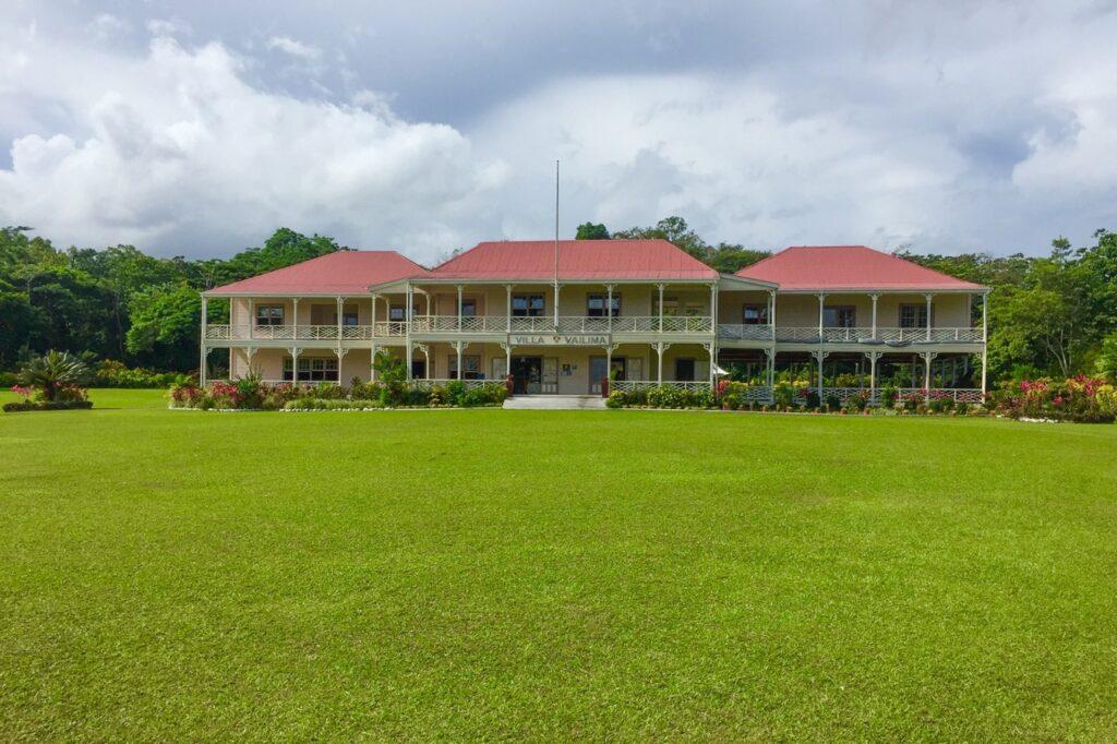 Robert Louis Stevenson's home in Samoa.