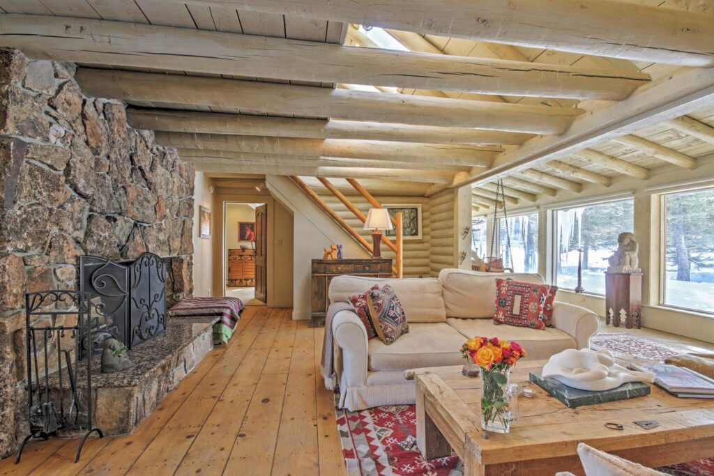 Rockies Relaxation Cabin in Snowmass.