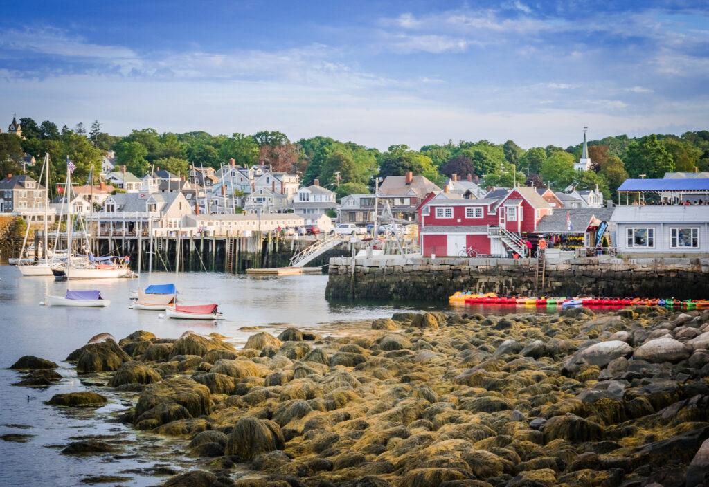 Rockport harbor in Massachusetts.