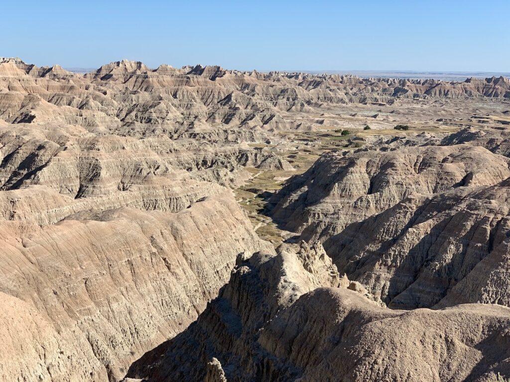 Rocks at Badlands.