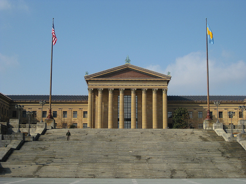 rocky steps philadelphia museum of art