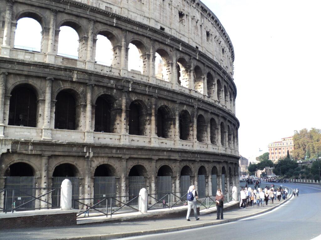 Rome Forum in Italy.