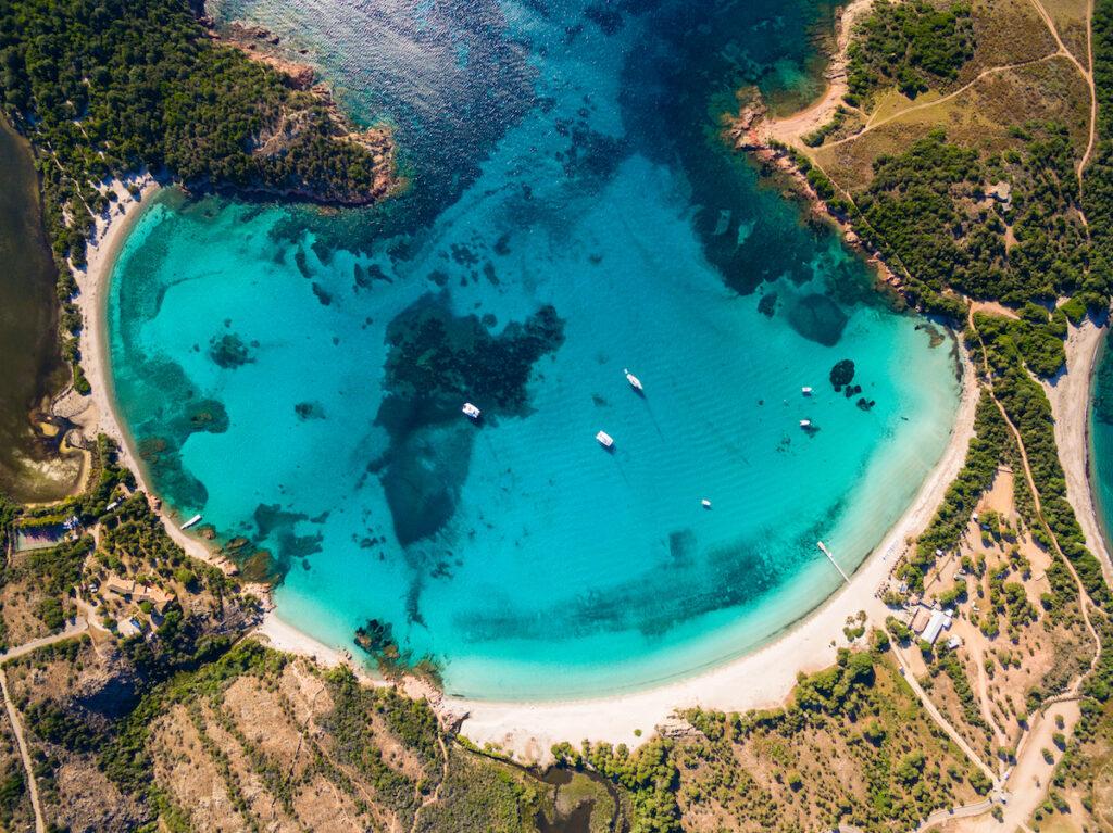Spiaggia Rondinara, Corsica.