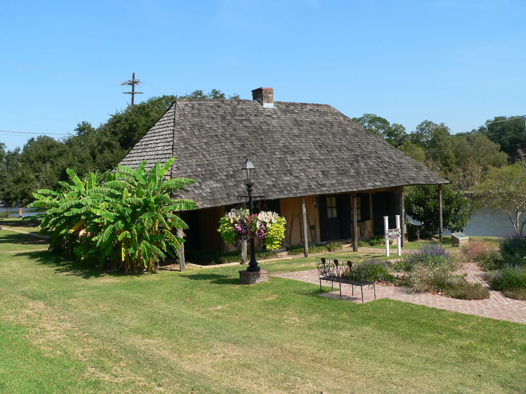 Roque House, Natchitoches, Louisiana.