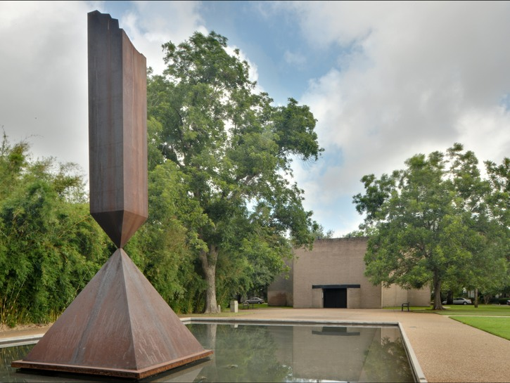 Rothko chapel statue