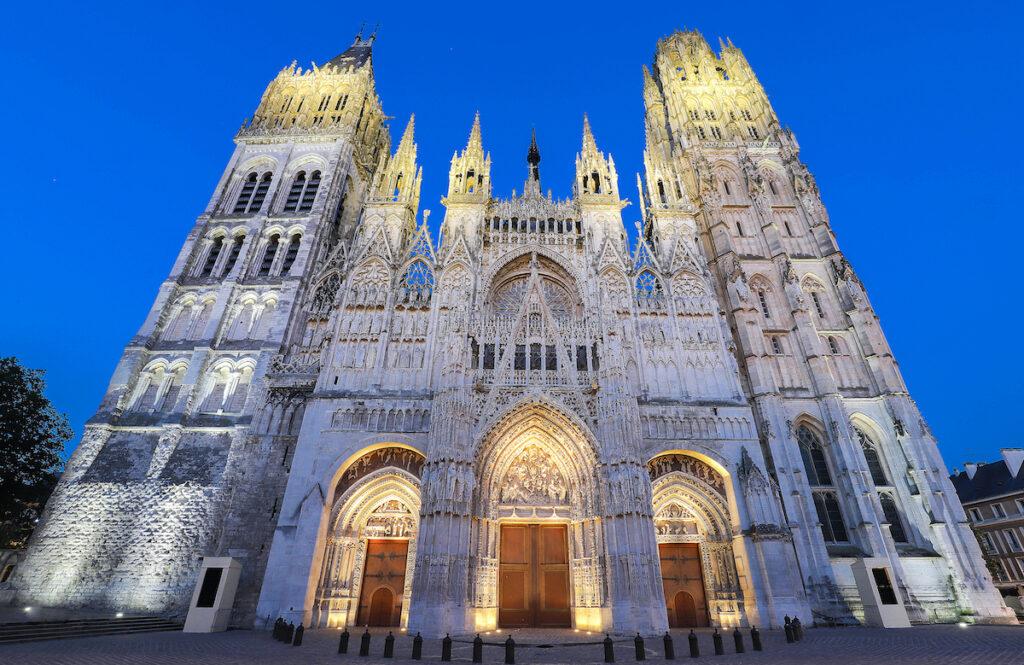 Rouen Cathedral, Rouen, France.