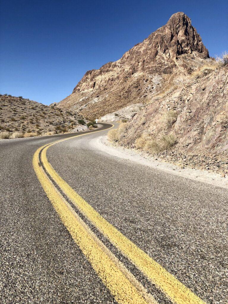 Route 66 views near Oatman, Arizona.