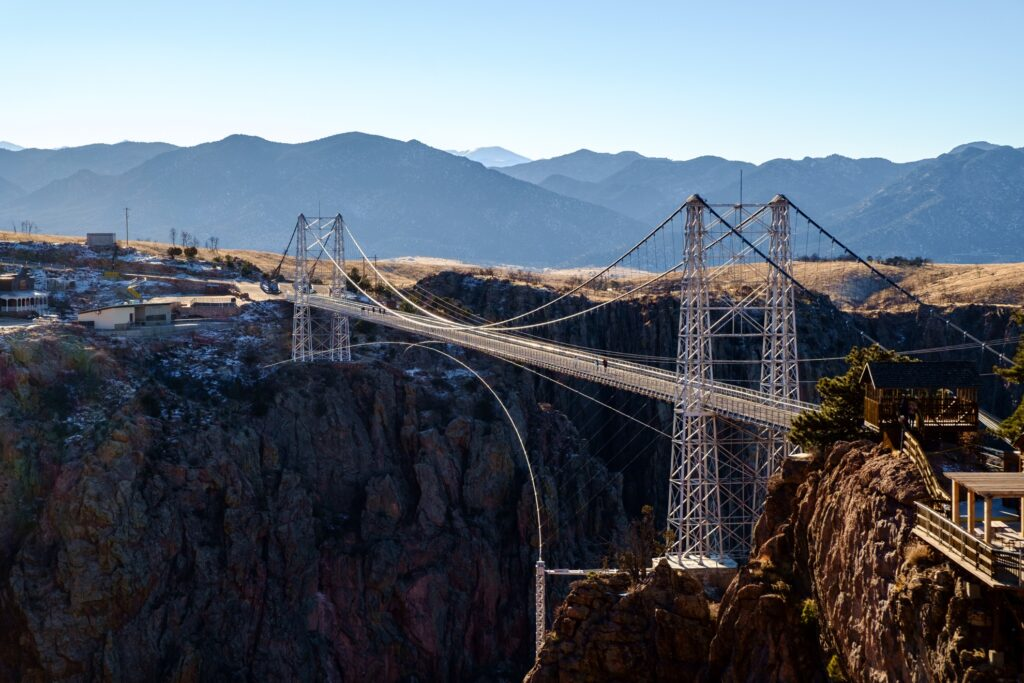 Royal Gorge Bridge in Cañon City, Colorado.