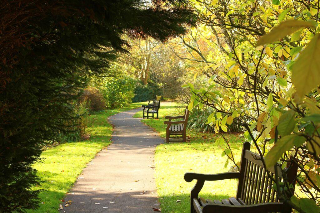 Royal Victoria Park in Bath, England.