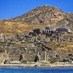 Ruins, Delos, Greece.