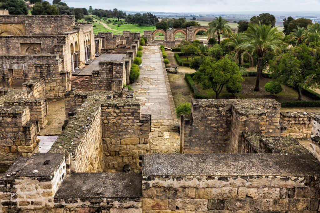 Ruins of Medina Azahara in Spain.