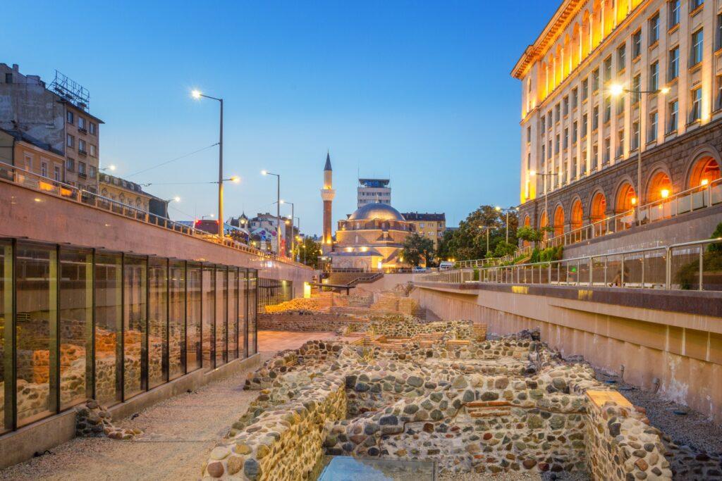 Ruins of Serdica in Sofia.