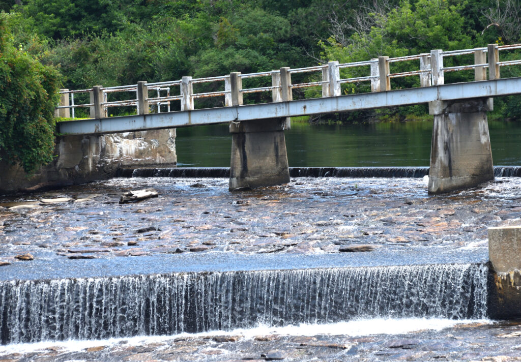 Rumford Falls in Rumford, Maine.