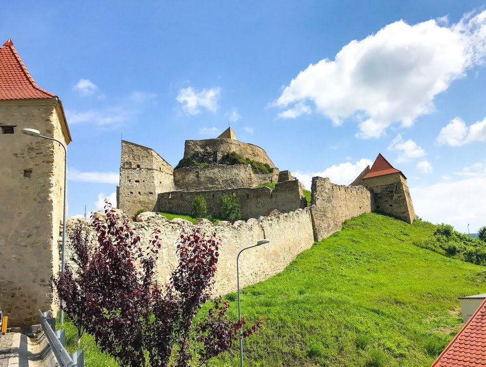 Rupea Citadel in Transylvania.