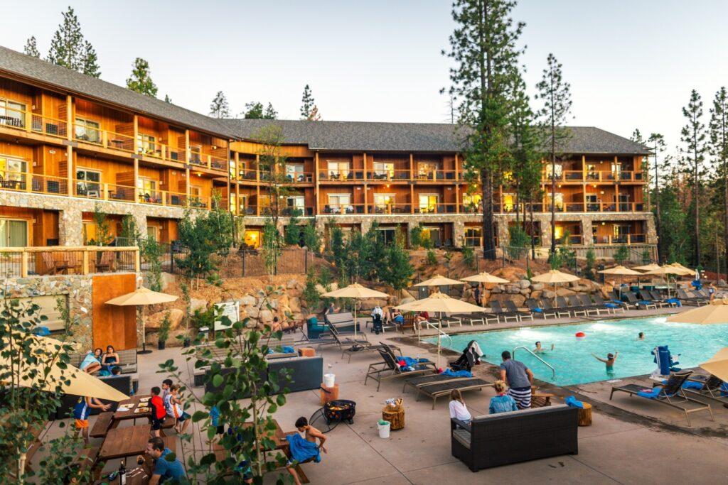 Rush Creek Lodge just outside of Yosemite.