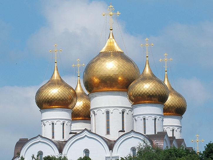 Russian church spires