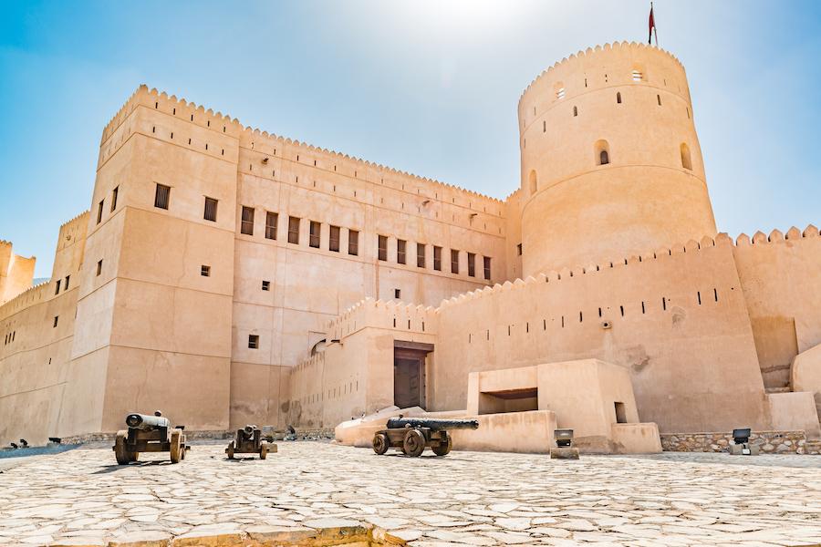 Rustaq Fort in Oman.