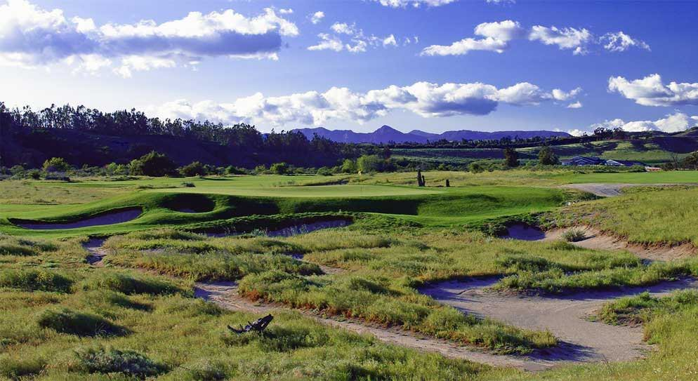 Rustic Canyon Golf Course in California.