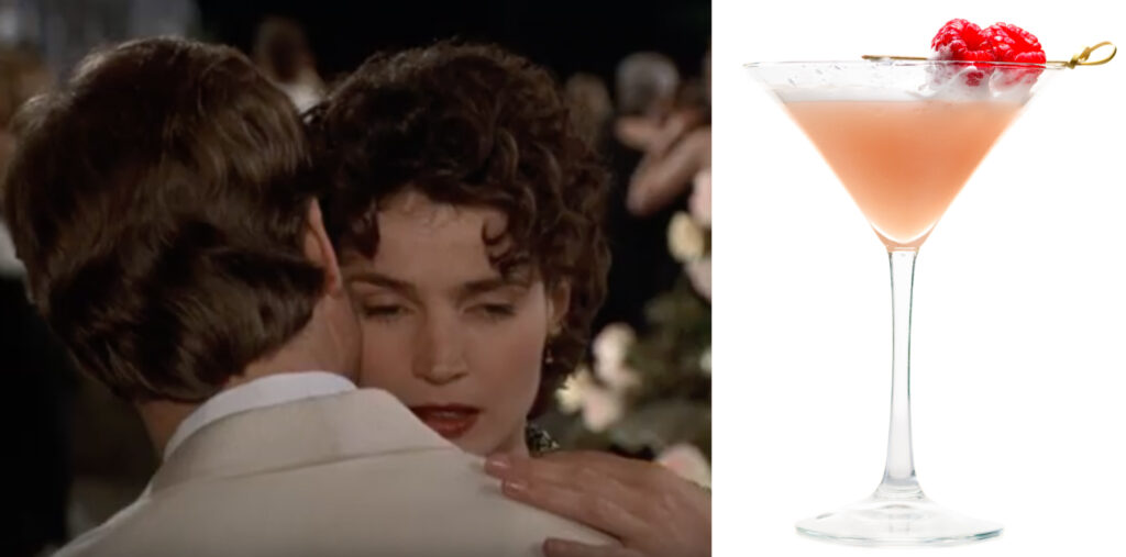 Sabrina and a French Kiss.