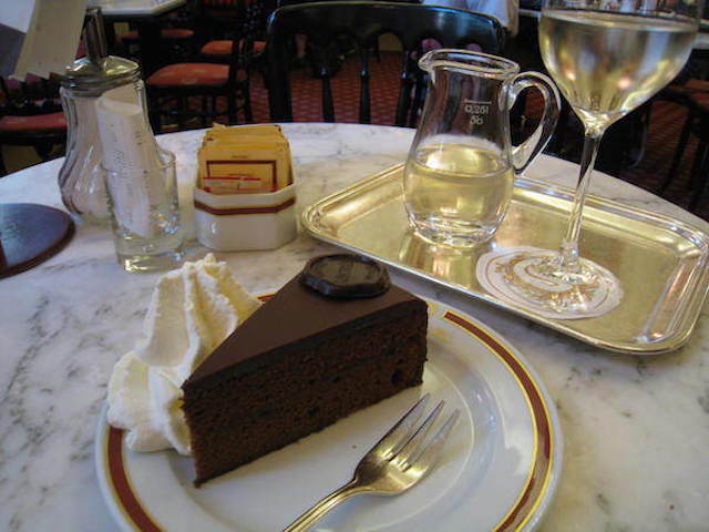 Sacher Torte in Austria.