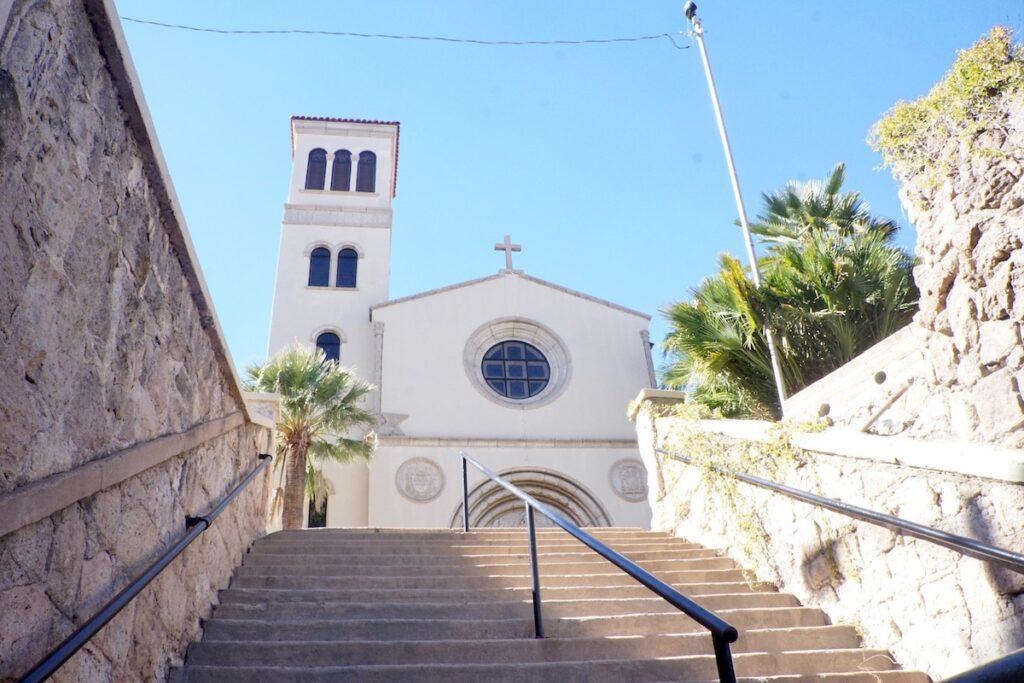 Sacred Heart Church in Nogales, Arizona.