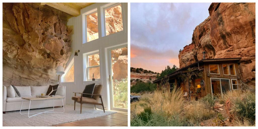 Sage Canyon Cliff House in Cortez, Colorado.