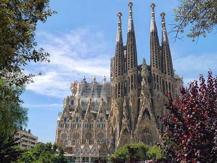 Sagrada Familia church, Barcelona.
