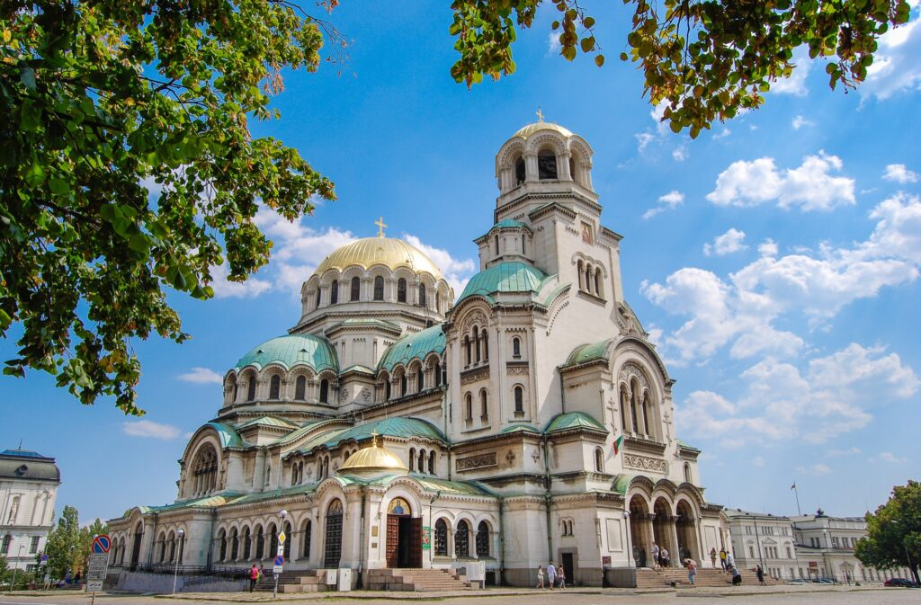 Saint Alexander Nevsky Cathedral in Sofia.