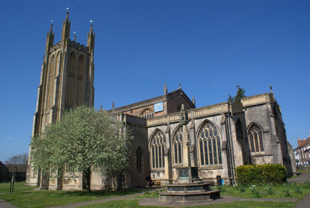 Saint Cuthbert's Church in Somerset.