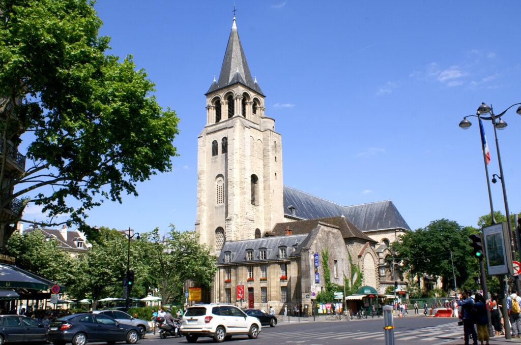 Saint-Germain-Des-Prés in Paris.