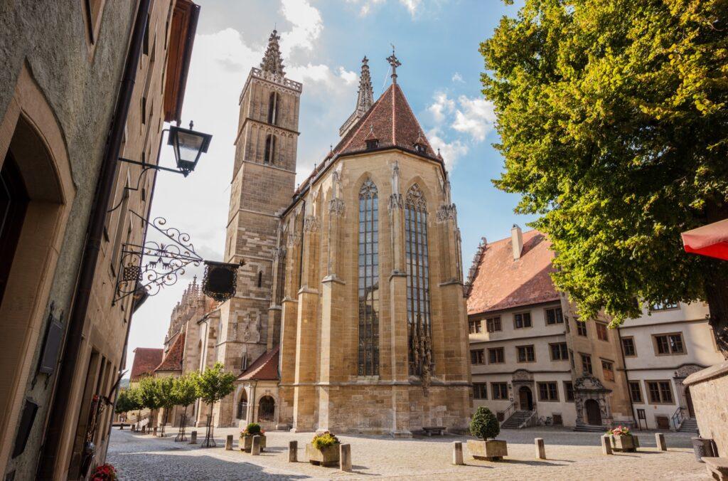 Saint James's Church in Rothenburg.