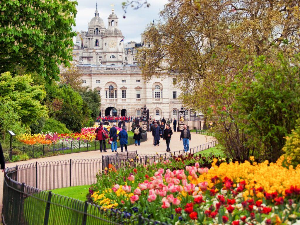 Saint James's Park in London.