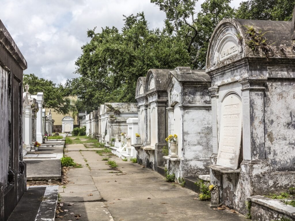 Saint Louis Cemetery No. 1 in New Orleans.