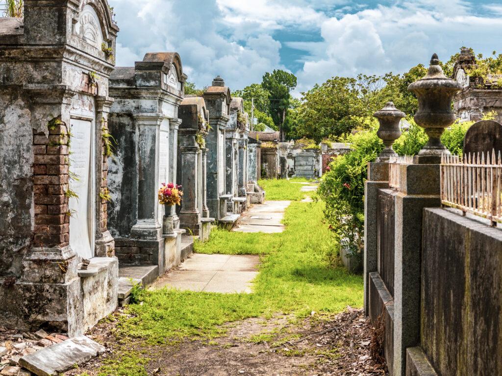 Saint Louis Cemetery No. 1 in New Orleans, Louisiana