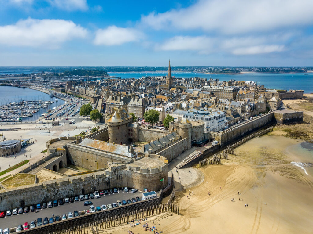Saint-Malo in Brittany, France.