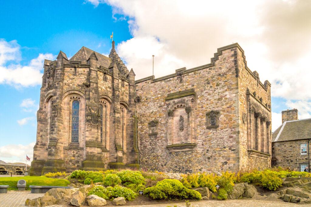 Saint Margaret's Chapel in Edinburgh, Scotland