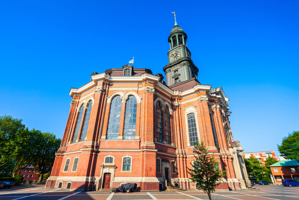 Saint Michael's Church in Hamburg.