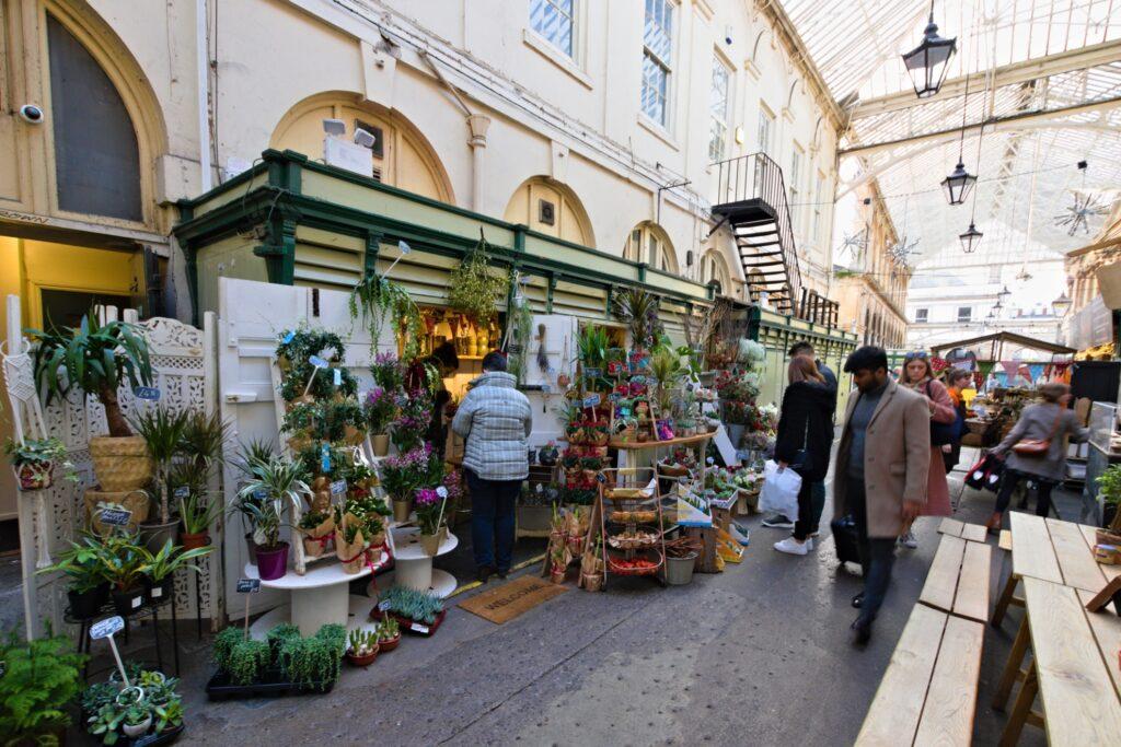 Saint Nicholas Market in Bristol, England.